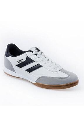Jump 18089 Merdane Beyaz Siyah Spor Beyaz Ayakkabı 1