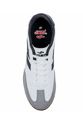 Jump 18089 Merdane Beyaz Siyah Spor Beyaz Ayakkabı 2