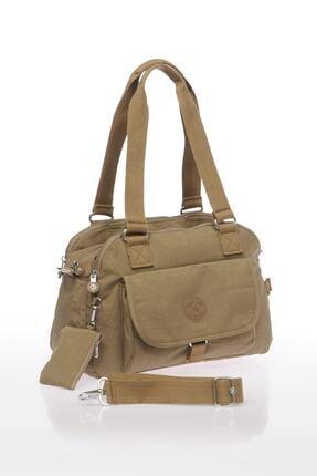 Smart Bags Kadın Açık Kahverengi Omuz Çantası 1