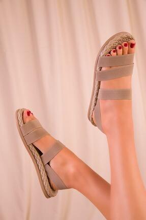 CONFORCİTY Kadın Bej Sandalet 1