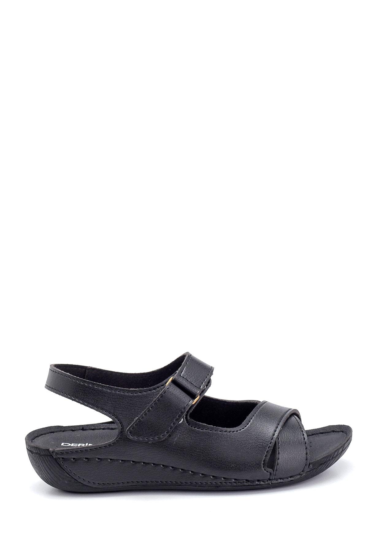Kadın Dolgu Topuk Casual Sandalet