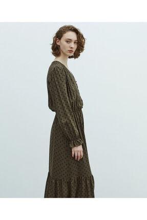 MISS IPEKYOL Puantiye Desen Elbise 1