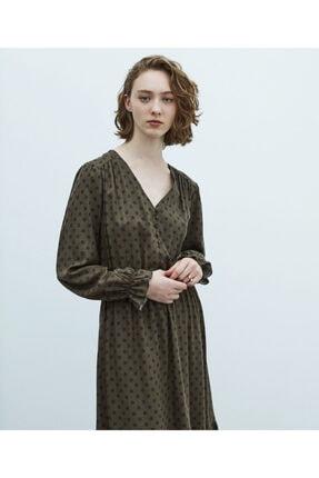 MISS IPEKYOL Puantiye Desen Elbise 4