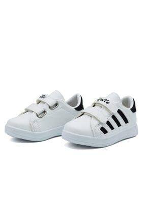 Efolle Unisex Çocuk Siyah Beyaz Sneaker 2