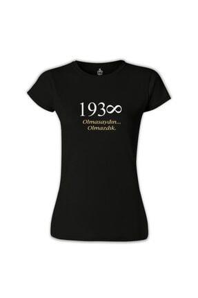 Lord T-Shirt Kadın Siyah T-shirt 0