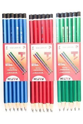 Fatih Mercanlı Kurşun Kalem 12 Li 0