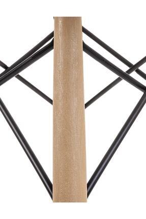 Dorcia Home Beyaz Eames Sandalye - 4 Adet - Cafe Balkon Mutfak Sandalyesi 4