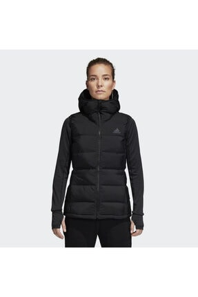 adidas W HELIONIC VEST Siyah Kadın Mont 101117470 0