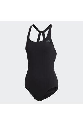 adidas Kadın Siyah Fit Suit Sol Yüzücü Mayosu Dq3312 2