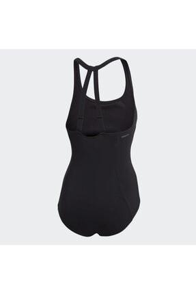 adidas Kadın Siyah Fit Suit Sol Yüzücü Mayosu Dq3312 3