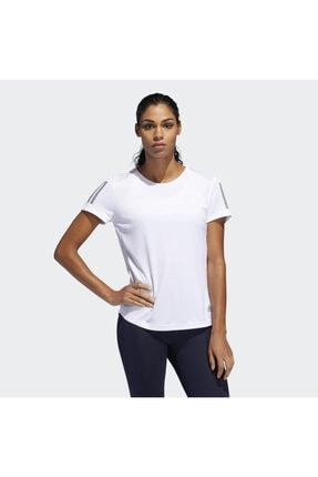 adidas OWN THE RUN TEE Beyaz Kadın T-Shirt 101015858 1