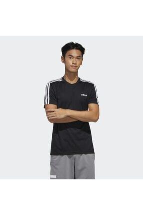 adidas M D2M 3S TEE Siyah Erkek T-Shirt 101117900 0