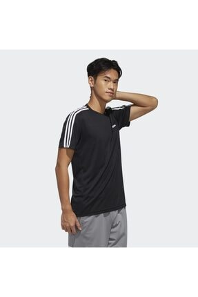 adidas M D2M 3S TEE Siyah Erkek T-Shirt 101117900 3