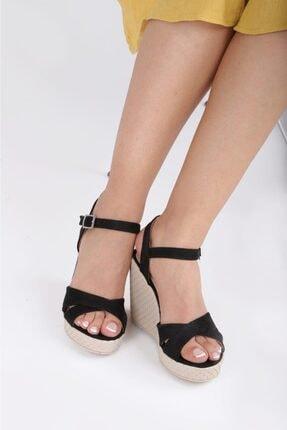 Kadın Topuklu Sandalet Ayakkabı A3