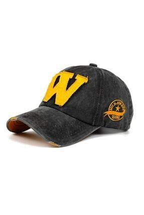 Orçun Özkarlıklı Unisex Koyu Gri Kep Şapka 0