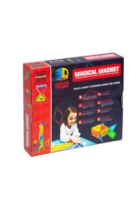 Magical Magnet ,mıknatıslı ,manyetik 3 Boyutlu ,yapı Ve Tasarım Lego Eğitim Seti ,30 Parça 1