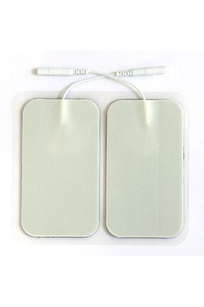FİZYOPOL Tens Cihazı Kablolu Yedek Elektrot- 5x9 Dikdörtgen Tens Pedi 4'lü Paket 0