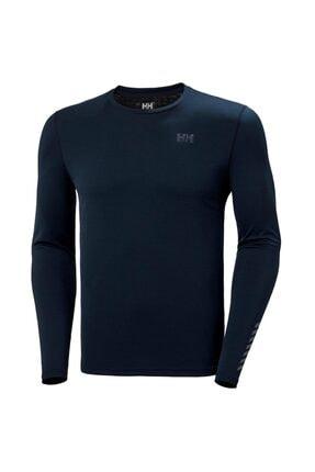 Picture of Erkek Mavi Lifa Active Solen  Likra Spor T-Shirt