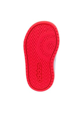 adidas HOOPS 2.0 CMF I Beyaz Kız Çocuk Sneaker Ayakkabı 100663751 4