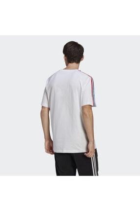 adidas Erkek Beyaz Adicolor Tricolor Tişört 1