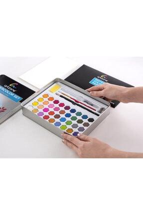 artline Suluboya Seti + Kağıt ve Aksesuar 36 Renk 1