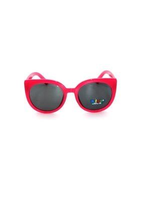 Çocuk Organik Camlı Uv400 Fuşya Kız Çocuk Güneş Gözlüğü 3smc656r004 resmi