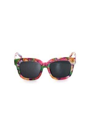 Çocuk Organik Camlı Uv400 Iki Renk Kız Çocuk Güneş Gözlüğü 3smc40274r005 resmi