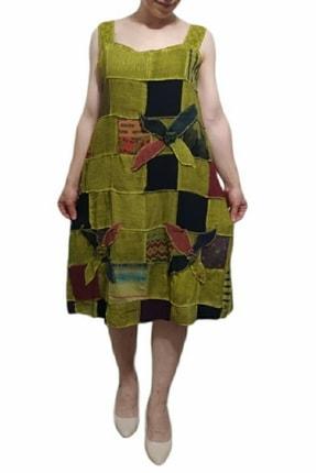 Kadın Haki Yeşili Elbise AKY0005
