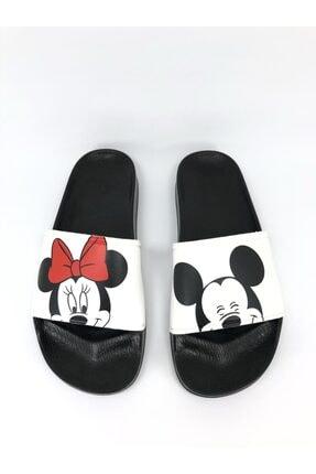 AKBAŞ Mickey Ve Mouse Baskılı Kadın-kız Terliği 0