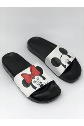 AKBAŞ Mickey Ve Mouse Baskılı Kadın-kız Terliği 1