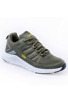 Jump 24865 Haki Sarı Erkek Günlük Spor Ayakkabı 1