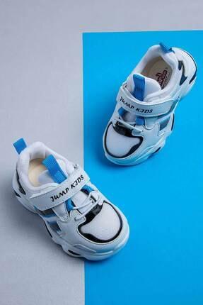 Jump Çocuk Spor Ayakkabı 26056 B Whıte/blue/black 4