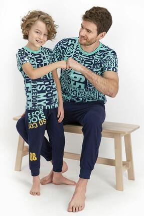 Picture of 2371 Freedom Genç Erkek Kısa Kol Pijama Takımı