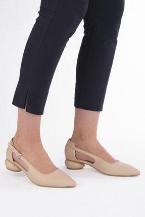 Marjin Kadın Günlük Klasik Topuklu Ayakkabı Evolibej 1