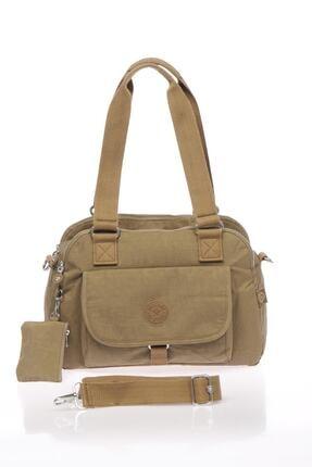 Smart Bags Kadın Açık Kahverengi Omuz Çantası 0