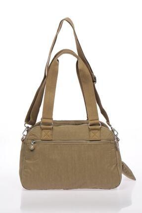 Smart Bags Kadın Açık Kahverengi Omuz Çantası 2