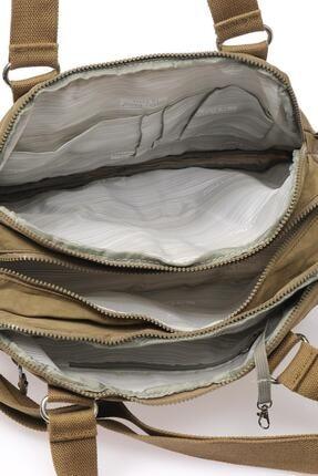 Smart Bags Kadın Açık Kahverengi Omuz Çantası 3