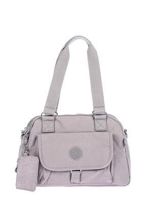 Smart Bags Kadın Gri Omuz Çantası 0