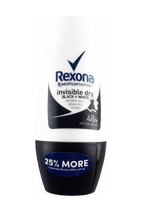 Rexona Invisible Black&white Roll-on 50 Ml . 0
