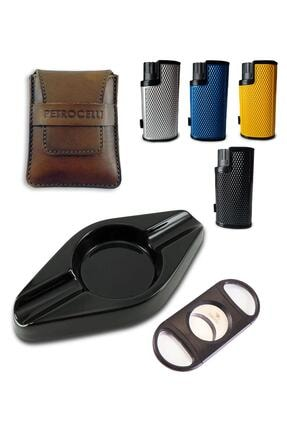 Petrocelli Diamond Premium Puro Set Çiftli Küllük AT01408