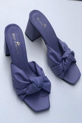 İnan Ayakkabı Fiyonk Düğümlü Terlik 0