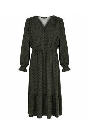 MISS IPEKYOL Puantiye Desen Elbise 3