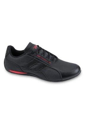 Jump Erkek Siyah Kırmızı Günlük Spor Ayakkabı -45 24860 4