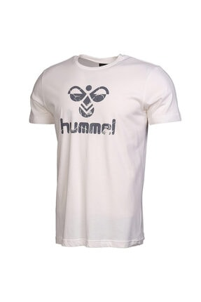 HUMMEL Tıto Beyaz Kısa Kollu Erkek T-Shirt 3