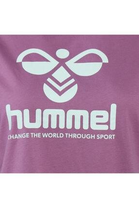 HUMMEL HMLVODER Mor Kadın T-Shirt 101085889 3