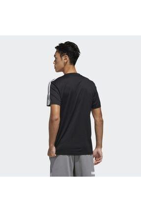 adidas M D2M 3S TEE Siyah Erkek T-Shirt 101117900 2