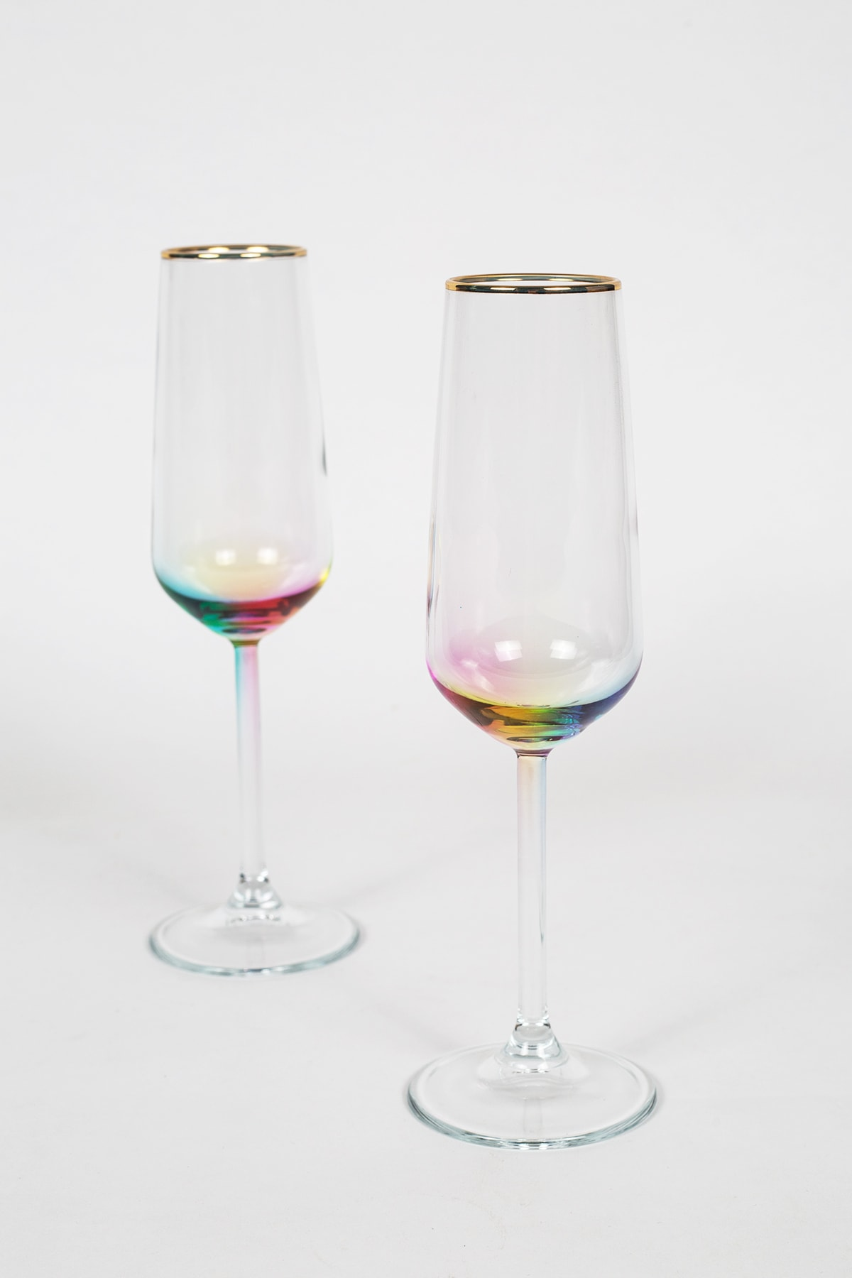 Rainbow 2'li Şampanya Kadehi Seti 195 Cc