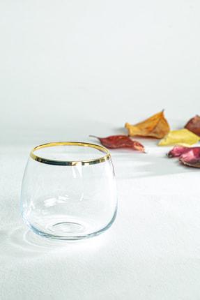 Rakle Astoria Gold 3'lü Kahve Yanı Bardağı Seti 220 Cc 2