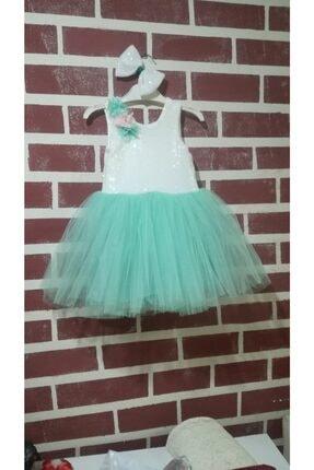 Mint Yeşili Elbise Gyesil11456617