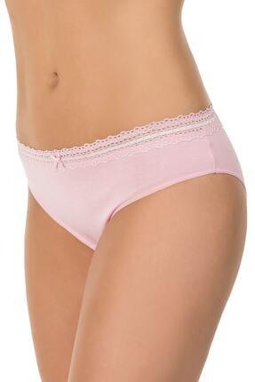 Kom Kadın Pembe Begonia 3'lü Bikini Külot 41BK20391PEMB 1